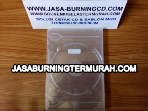 Case DVD 14mm Clear